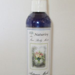 Naturloy Fine Body Mist - Autumn Musk, 4 Oz.